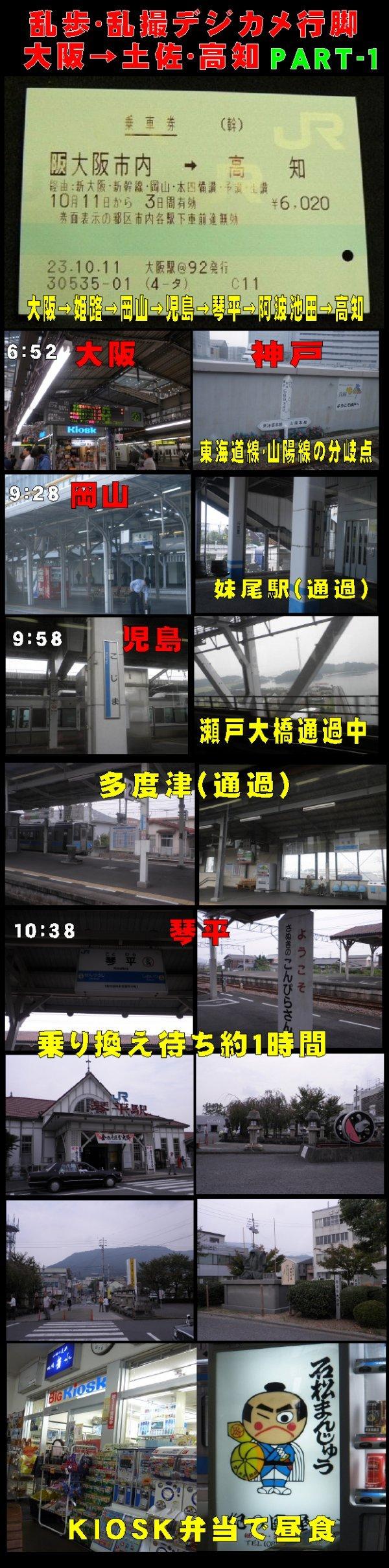 大阪・高知 ブログ