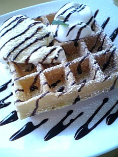 sakura_cafe_sucre_chocolatewaffle