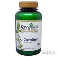 L-カルニチン500mg 100錠