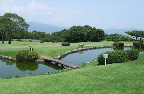 日本平ホテル庭