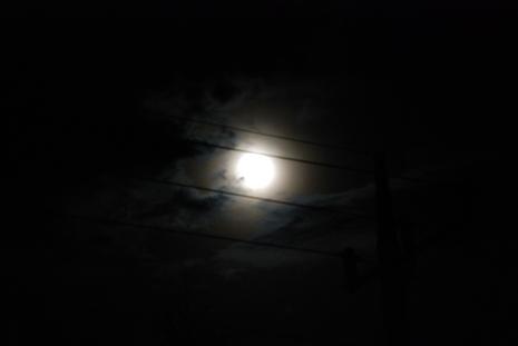 小淵沢の月