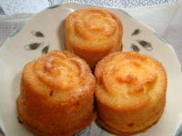 バラのパウンドケーキ