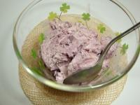 ブルーベリーアイス