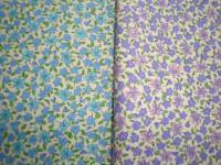 小花柄の布