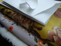 型紙と服地