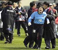 北朝鮮女子サッカー1