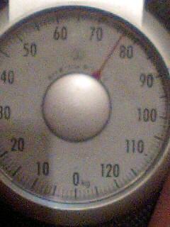 76、5キロ