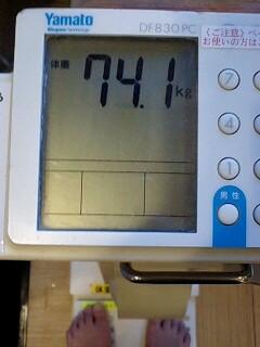 74.1キロ