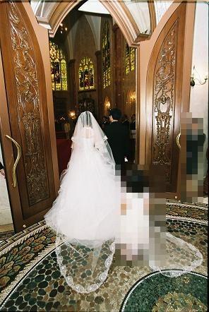 080811リア結婚式②
