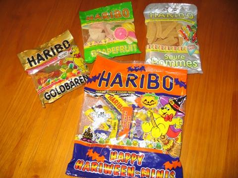 ハリボー3袋HARIBO