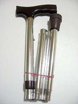 折りたたみ式杖