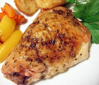 鶏のガーリックロースト