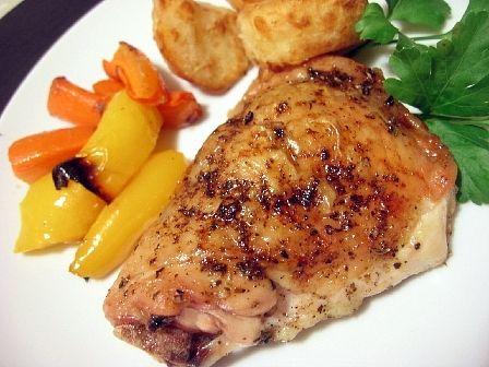 鶏と野菜のガーリックロースト