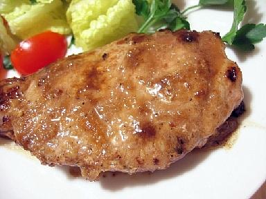 豚肉のニンニク生姜焼き2