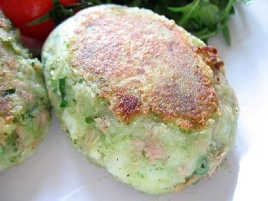 バジルツナフィッシュケーキ2
