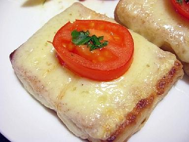 豆腐のマリネチーズ焼2
