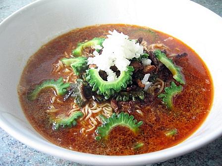 ゴーヤ担々麺