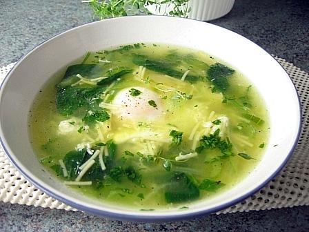 緑のミネストローネタイム風味2