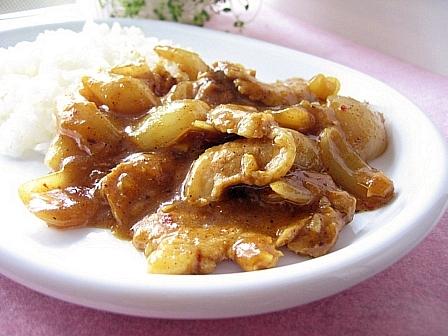 中華風ポークカレー