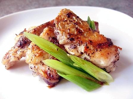 鶏肉のゆかり焼き