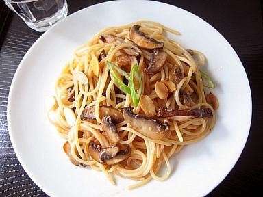 明太きのこスパゲティ