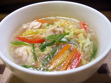 五目春雨スープ煮