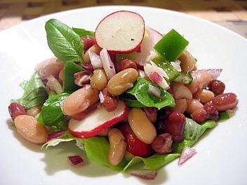 3種の豆のサラダ