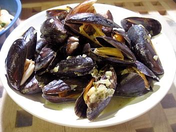 ムール貝のワイン蒸し2