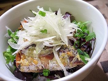 オイルサーディン丼2