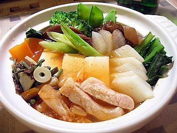 豆腐とカブのチゲ2