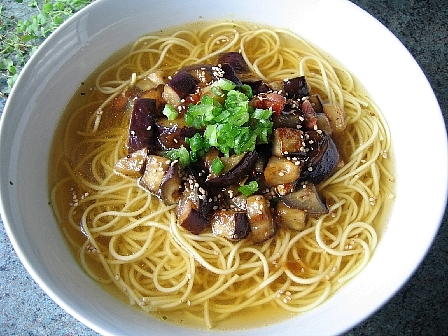 麻婆なす麺
