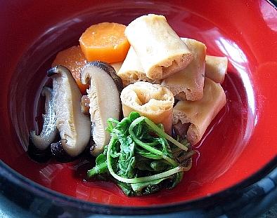 乾豆腐の含め煮