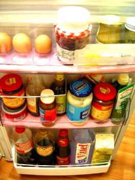 冷蔵庫-ドアポケット