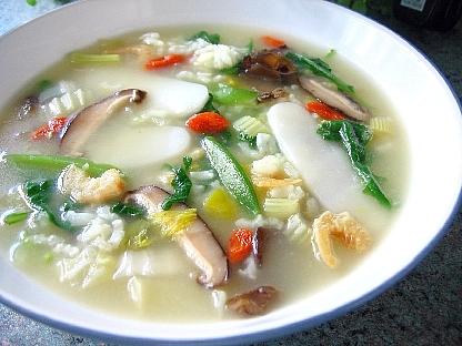 中華風野菜雑炊