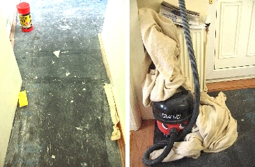廊下&玄関(掃除機)