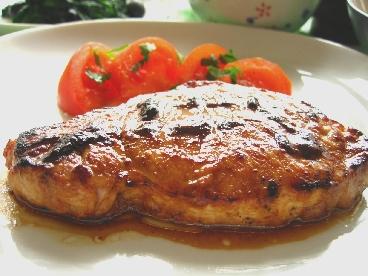 豚肉のはちみつ八丁味噌焼