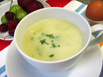 キャベツと豆乳のスープ