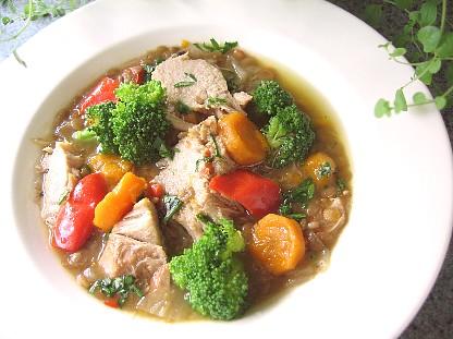 塩豚と野菜の煮込み