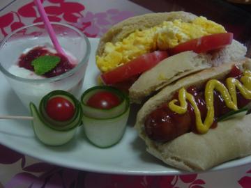 ミク家の朝食