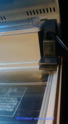 本水槽カルディアアクロス冷却ファン~猛暑回避水温対策~⑥