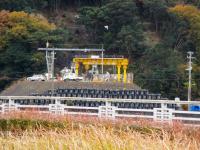 2011.12.17 宇和島道路の近家トンネルの岩松側