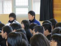 2012.1.17 マンダリンの野球教室の大井君