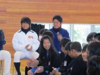 2012.1.17 マンダリンの野球教室の大井君2