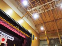 2012.2.7 新居浜特別支援学校開校記念式典を行った体育館