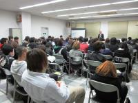 2012.1.18 新居浜西高校定時制労働セミナー1
