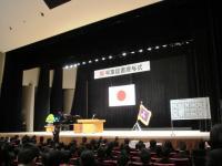 2012.3.1 新居浜東高校卒業式1