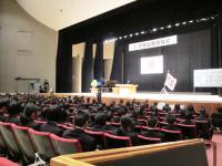 2012.3.1 新居浜東高校卒業式2