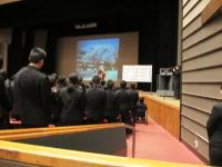 2012.3.1 新居浜東高校卒業式3
