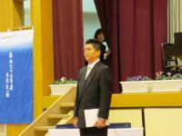 2011.3.16 泉川中学校卒業式・山中先生 ブログ用