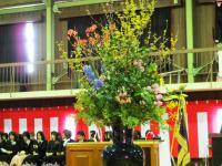 2012.3.22 泉川小学校卒業式1